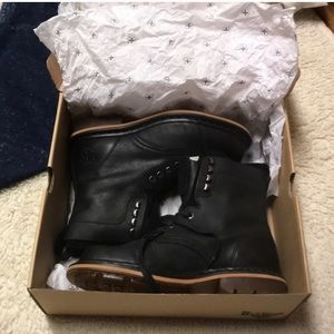 New In Box Dr.Martens Pier suede&leather boots-8